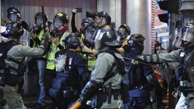 Više od 200 ljudi uhapšeno na protestu u Hongkongu 2