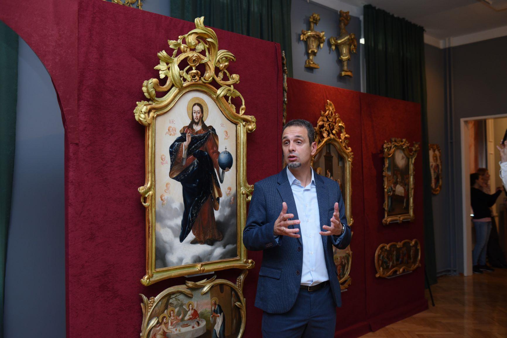 3D ikonostas i putovanje kroz barok i svet Teodora Kračuna 2