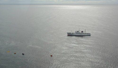 Sudar severnokorejskog ribarskog broda i japanskog patrolnog čamca 1