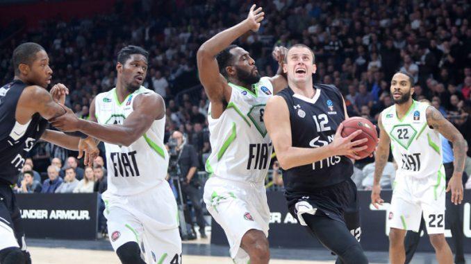 Košarkaši Partizana pobedili Tofaš u Evrokupu 1
