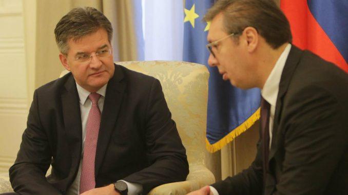 Sutra sastanak Vučića i Lajčaka 1