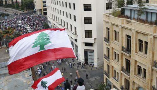 Libanski demonstranti postavili šatore na glavnim putevima 2