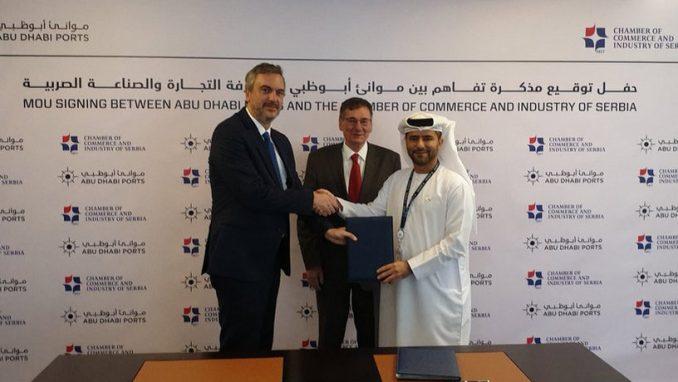 PKS potpisala sporazum sa kompanijom Abu Dhabi Ports 4