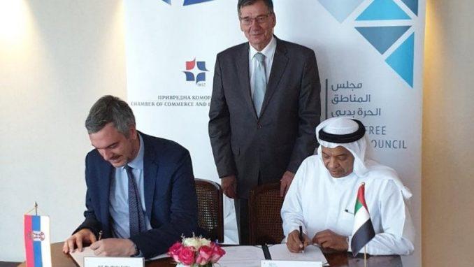 Čadež: Srpskim privrednicima otvorena vrata slobodnih zona Dubaija  3