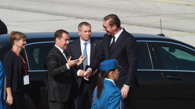 AP: Poseta Medvedeva Beogradu potvrda bliskih veza Srbije i Rusije 1