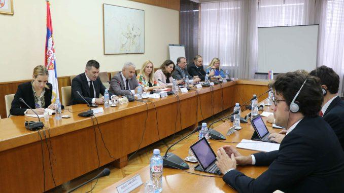 Ministar Đorđević sa delegacijom MMF-a o socijalnoj zaštiti i penzionom sistemu 2