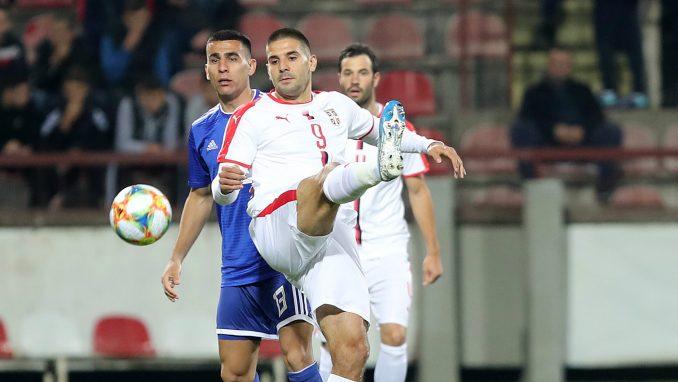 Srbija golom Mitrovića u 90. minutu pobedila Paragvaj u prijateljskom meču 1