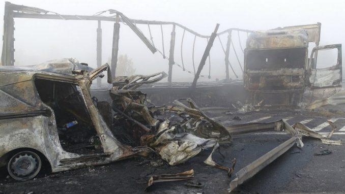Mađarska: Sedmoro poginulh u udesu koji je izazvao kamion iz Srbije 1