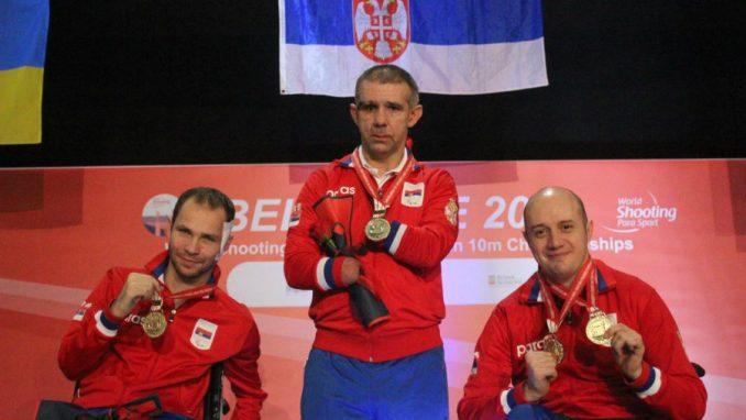 Srbija odbranila titulu šampiona sveta u parastreljaštvu 1