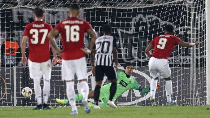 Partizan poražen od Mančester junajteda sa 1:0 1