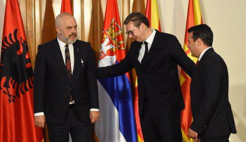 U Novom Sadu počeo sastanak Rame, Vučića i Zaeva 2