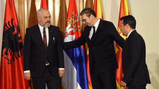 U Novom Sadu počeo sastanak Rame, Vučića i Zaeva 1