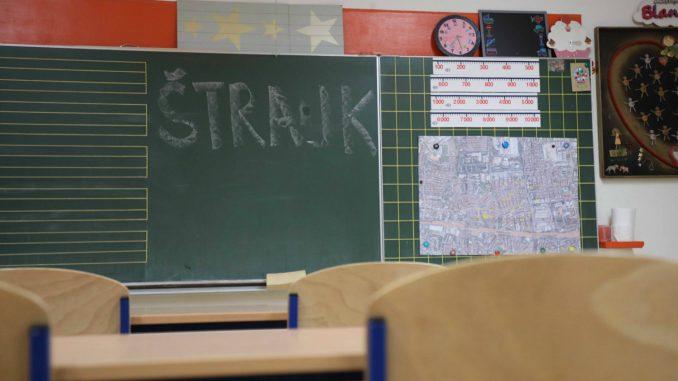 Štrajk u hrvatskim školama se nastavlja, još nema dogovora s vladom 1