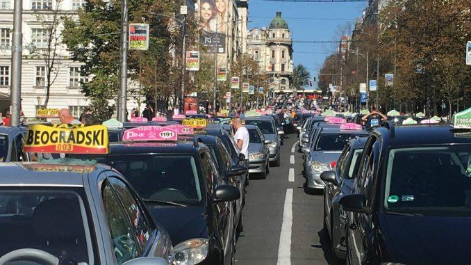 Ministarstvo odbacilo navode Komiteta za bezbednost sabraćaja da je odgovorno za štrajk taksista 2