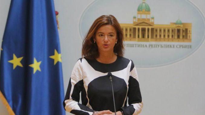Fajon: Legitimitet srpskog parlamenta bez stvarne opozicije je pod znakom pitanja 1