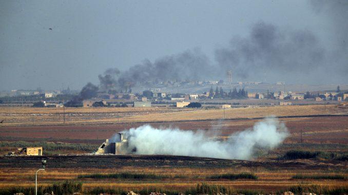 Turske snage napreduju u kopnenoj akciji protiv kurdskih boraca u Siriji 1