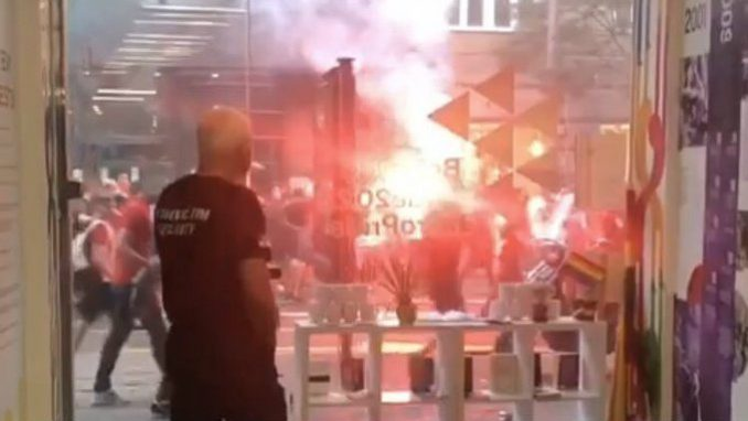 Miletić: Navijači Crvene zvezde napali prostorije Prajd info centra 1