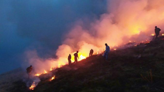"""Zaustavljeno širenje vatre na Staroj Planini, očekuje se dolazak """"iljušina"""" 3"""