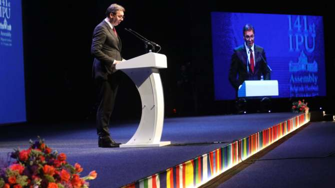 Vučić: Sanjamo mir, prosperitet i razvoj, ali nema preče stvari od slobode 1