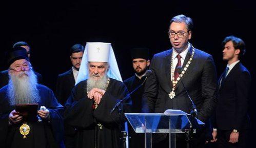 Irinej uručio Vučiću orden Svetog Save, većina vladika bojkotovala svečanost 8