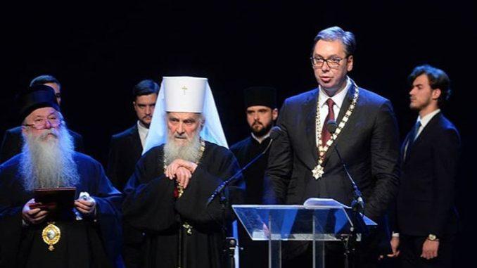 Irinej uručio Vučiću orden Svetog Save, većina vladika bojkotovala svečanost 1
