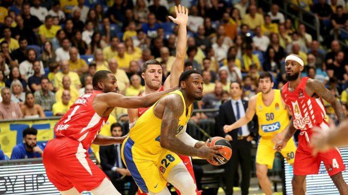 Makabi naneo drugi poraz Crvenoj zvezdi u košarkaškoj Evroligi 1