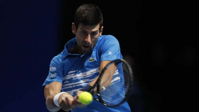 Novak Đoković za samo sat vremena pobedio Beretinija na ATP finalu u Londonu 3