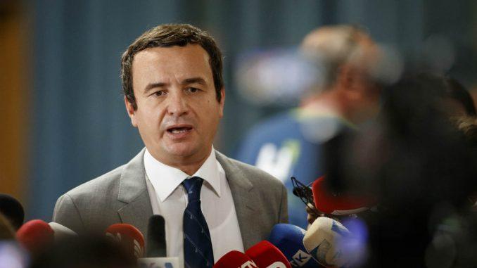 Kurti: Mini Šengen je namera Srbije da formira četvrtu Jugoslaviju 1