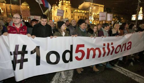 Godišnjica protesta 1 od 5 miliona: Okupljanja su brana od loših poteza vlasti 13