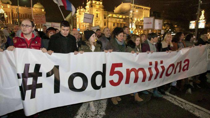 Godišnjica protesta 1 od 5 miliona: Okupljanja su brana od loših poteza vlasti 2