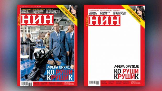 Većina građana smatra da NIN nije trebalo da ukloni fotografiju sa naslovne strane 3