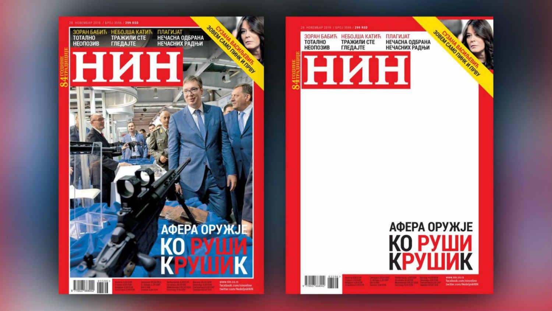 Većina građana smatra da NIN nije trebalo da ukloni fotografiju sa naslovne strane 1