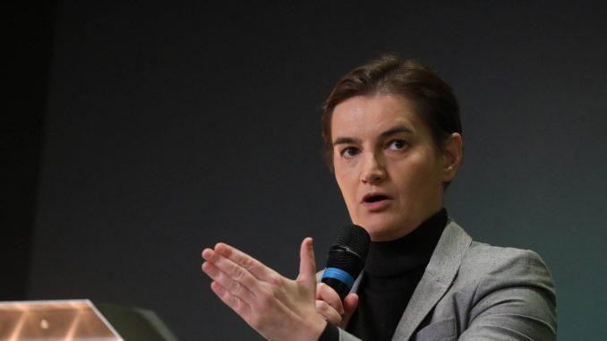 Premijerka pozvala tužilaštvo da se oglasi o navodima Miroslava Aleksića u slučaju Jovanjica 4