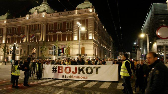 U subotu u Beogradu novi protest Jedan od pet miliona posvećen Oliveru Ivanoviću 1