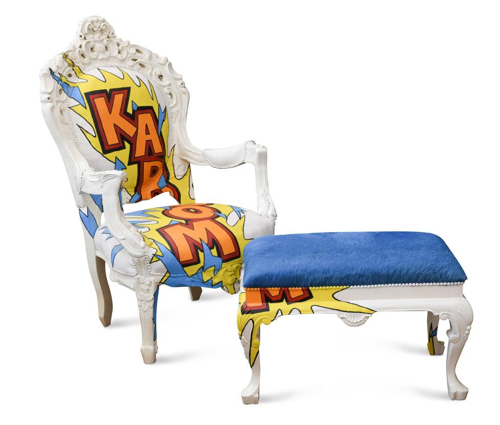 Keith Flint's chair