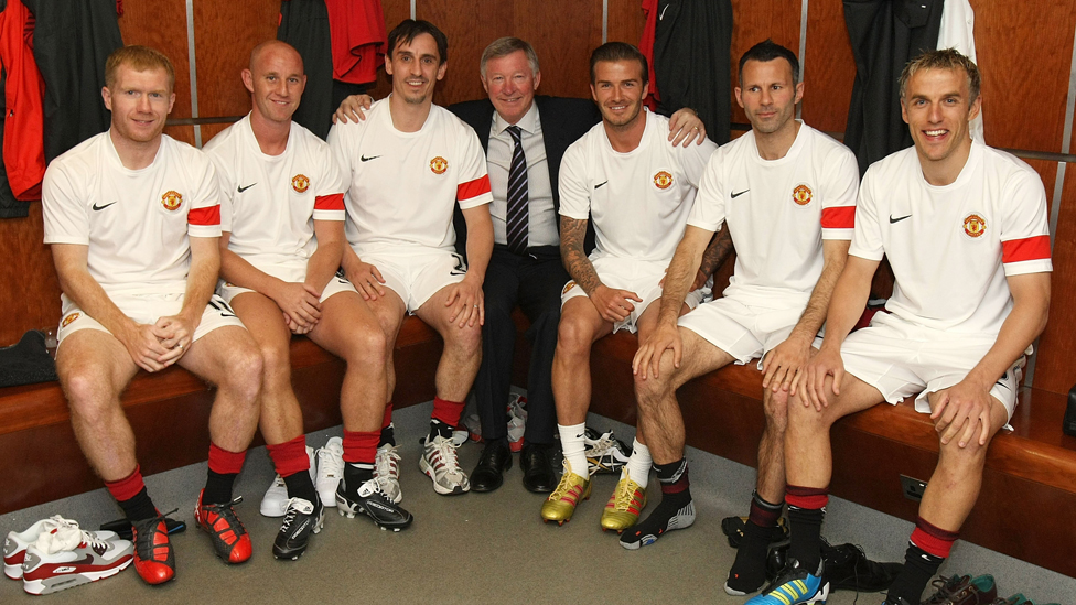 From the Busby Babes to Fergie's Fledglings - aka the Class of 92
