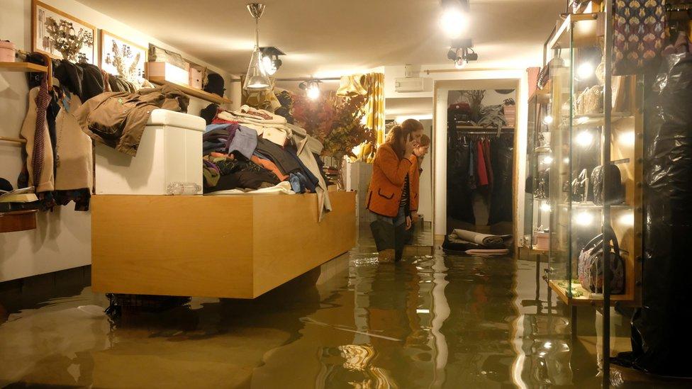 venecije poplava u radnji