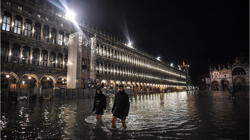 venecija poplava trg svetog marka