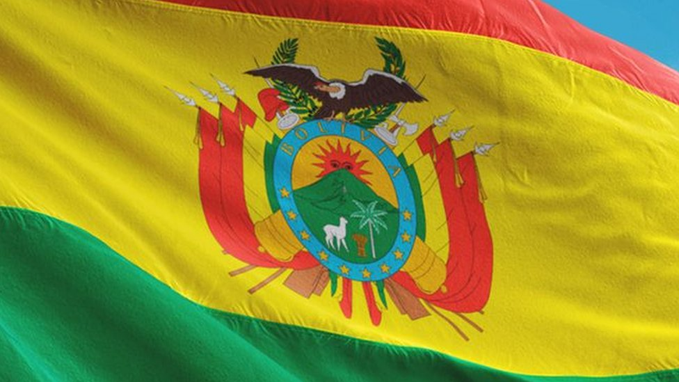 zastava bolivije