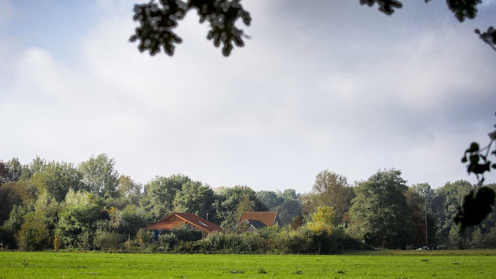 The farm in the Dutch northern province of Drenthe