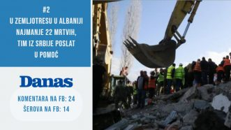 Zemljotres u Albaniji obeležio nedelju (VIDEO) 3