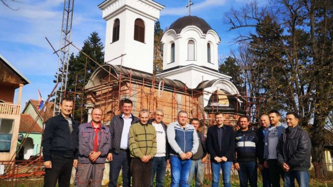 U Tabanoviću podignuta crkva 1