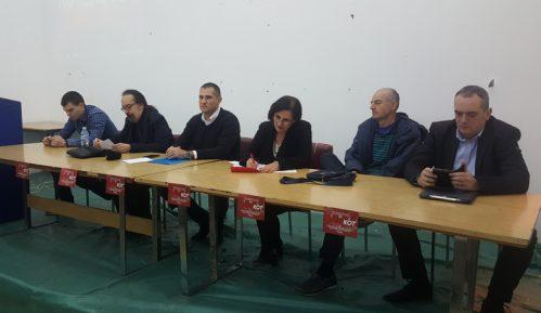 """Niški Savez za Srbiju održao tribinu o bojkotu izbora u """"Vacićevoj sali"""" 14"""