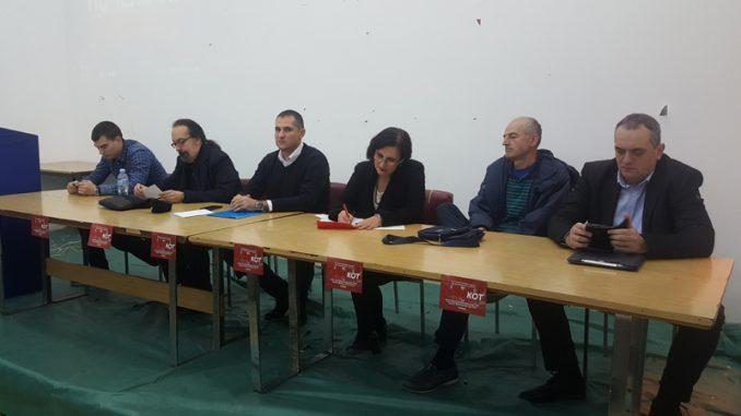 """Niški Savez za Srbiju održao tribinu o bojkotu izbora u """"Vacićevoj sali"""" 4"""