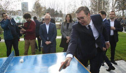 Vučić obišao radove u Beogradu na vodi, tvrdi da je novi park najlepši u ovom delu Evrope 6