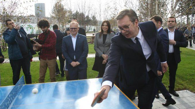 Vučić obišao radove u Beogradu na vodi, tvrdi da je novi park najlepši u ovom delu Evrope 5