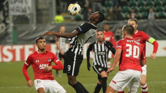 Partizan prokockao dva gola prednosti sa igračem više, remi u Hagu 2