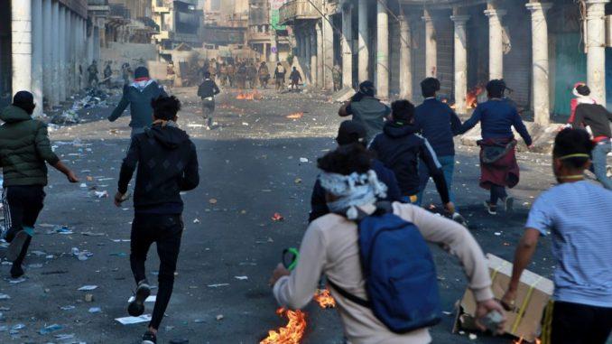 Irak: Tri demonstranta ubijena, 35 ranjeno u nasilju na protestima 1