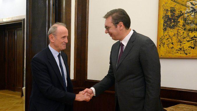 Vučić i Falkoni o francuskom predlogu za reformu procesa proširenja EU 2