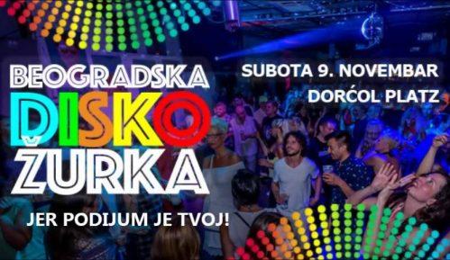 Beogradska Disko žurka  u Dorćol Platzu 1